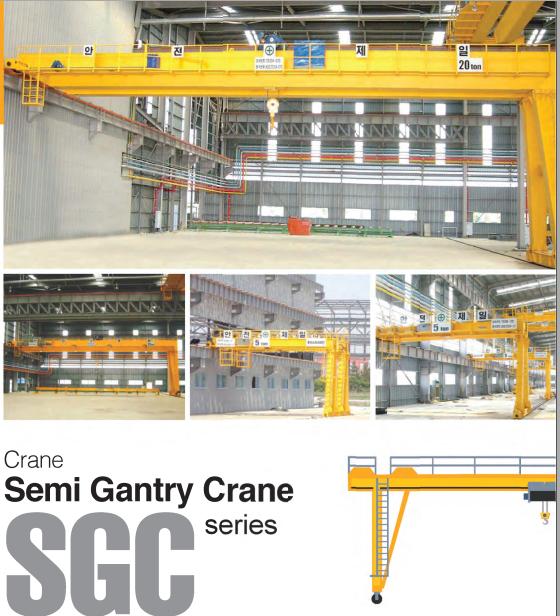 Bán Cẩu Trục SamSung- Model SGC- Hàn Quốc