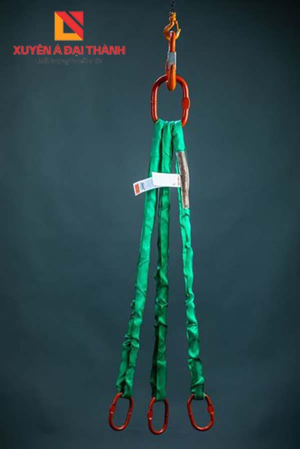 sling cáp vải 3 chân