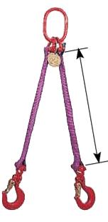 Hình ảnh sling cáp vải 2 chân